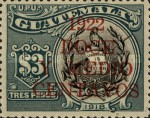 [Various Stamps Overprinted and Surcharged, type CP]