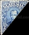 [National Symbols - Stamp of 1929 Halved and Used as One Cent, type EK2]