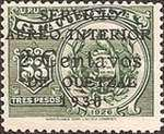 """[Airmail - Issues of 1926 Overprinted """"SERVICIO AEREO INTERIOR 1930"""" and Surcharged, type FM]"""