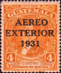 """[Airmail - Issue of 1929 Overprinted """"AEREO EXTERIOR 1931"""", type FR]"""