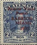 """[Airmail - Issues of 1929 Overprinted """"Primer Vuelo Posta BARRIOS-MIAMI 1931"""", type FU]"""