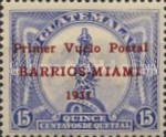 """[Airmail - Issues of 1929 Overprinted """"Primer Vuelo Posta BARRIOS-MIAMI 1931"""", type FW]"""