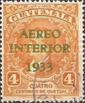 """[Airmail - Issue of 1929 Overprinted """"AEREO INTERIOR 1933"""", type GC]"""
