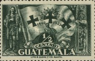 [The 441st Anniversary of Departure of Columbus from Palos, type GD]