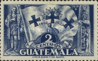 [The 441st Anniversary of Departure of Columbus from Palos, type GD2]