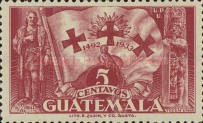 [The 441st Anniversary of Departure of Columbus from Palos, type GD4]