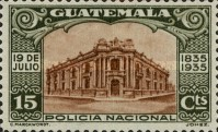 [The 100th Anniversary of the Birth of General Justo Ruffino Barrios, President of Guatemala, 1835-1885, type GO]
