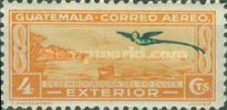 """[Airmail - Local Motives - Inscribed """"EXTERIOR"""", type IA]"""