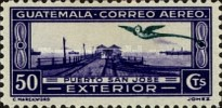 """[Airmail - Local Motives - Inscribed """"EXTERIOR"""", type II]"""