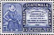 [Airmail - The 400th Anniversary of Founding of Antigua, type MD]