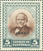 [Airmail - The 100th Anniversary of First Postage Stamps 1940, type MX]