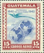 [Airmail - The 100th Anniversary of First Postage Stamps 1940, type MY]