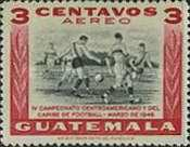 [Airmail - The 4th Central American and Caribbean Football Championship Games, type NG]