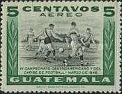 [Airmail - The 4th Central American and Caribbean Football Championship Games, type NG1]