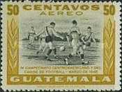 [Airmail - The 4th Central American and Caribbean Football Championship Games, type NG4]