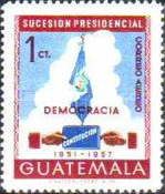 [Airmail - Presidential Succession, 1951, type OS]