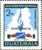 [Airmail - Presidential Succession, 1951, type OT]