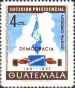 [Airmail - Presidential Succession, 1951, type OU]