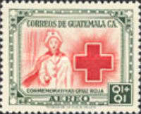 [Airmail - Red Cross - Inscribed
