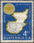 [Airmail - The 50th Anniversary of Rotary International, type QC]