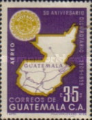 [Airmail - The 50th Anniversary of Rotary International, type QC2]