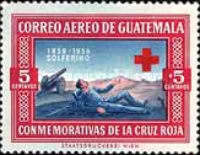 [Airmail - Red Cross Commemoration, type RE]