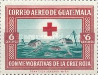 [Airmail - Red Cross Commemoration, type RF]