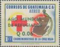 """[Airmail - World Refugee Year - Issues of 1958 Overprinted """"ANO MUNDIAL DE REFUGIADOS"""" or Surcharged also, type RI1]"""