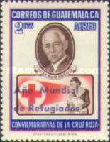 """[Airmail - World Refugee Year - Issues of 1958 Overprinted """"ANO MUNDIAL DE REFUGIADOS"""" or Surcharged also, type RJ]"""