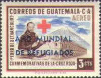 """[Airmail - World Refugee Year - Issues of 1958 Overprinted """"ANO MUNDIAL DE REFUGIADOS"""" or Surcharged also, type RK]"""