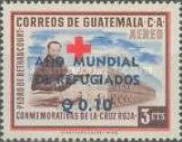 """[Airmail - World Refugee Year - Issues of 1958 Overprinted """"ANO MUNDIAL DE REFUGIADOS"""" or Surcharged also, type RK1]"""