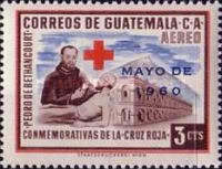"""[Airmail - Red Cross - Issues of 1958 Overprinted """"MAYO DE 1960"""", type RQ1]"""