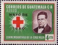 """[Airmail - Red Cross - Issues of 1958 Overprinted """"MAYO DE 1960"""", type RR]"""