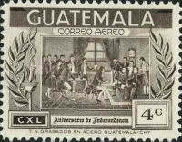 [Airmail - The 140th Anniversary of Independence, type RT]