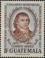 [Airmail - Guatemalan Doctors, type RX]