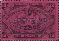 """[Issue of 1897 Overprinted """"UN CENTAVO 1898"""" and Surcharged, type Y]"""