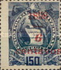 """[Various Stamps Overprinted """"1898, Bar and 1 Centavo"""" and Surcharged, type Z3]"""