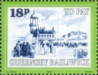 [Postage Due Stamps - Local Motifs, Typ I]
