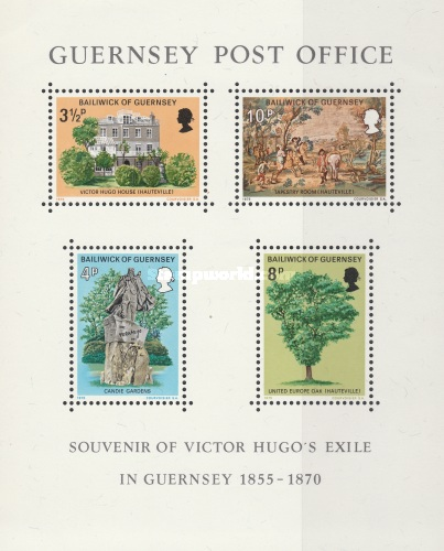 [The exile of Victor Hugo on Guernsey, Typ ]