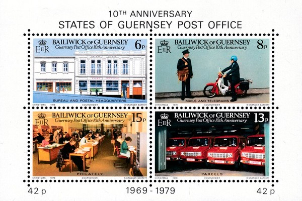 [The 10th Anniversary of the Guernsey Post Office, type ]