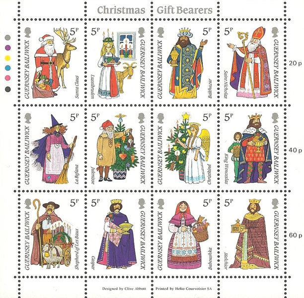 [Christmas Stamps, Typ ]