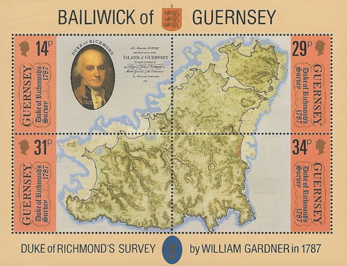 [The 200th Anniversary of the Duke Of Richmond´s map over Guernsey, Typ ]
