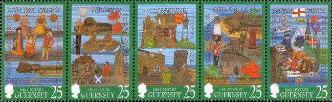 [The 1000th Anniversary of the Tapestry of Guernsey, Typ ]