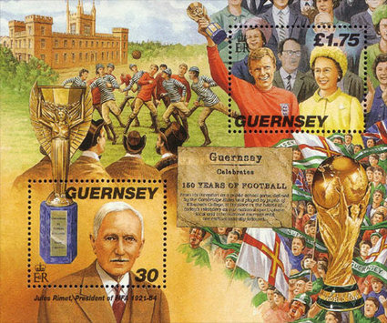 [The 150th Anniversary of Football on Guernsey, Typ ]