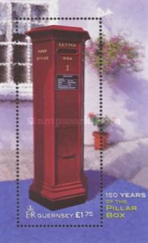 [The 150th Anniversary of Pillar Box, Guernsey, Typ ]