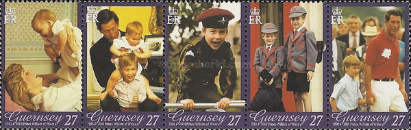 [The 21th Anniversary of the Birth of Prince William, Typ ]