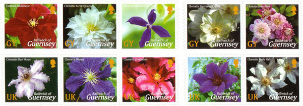 [Clematis - Self-adhesive Stamps, Typ ]