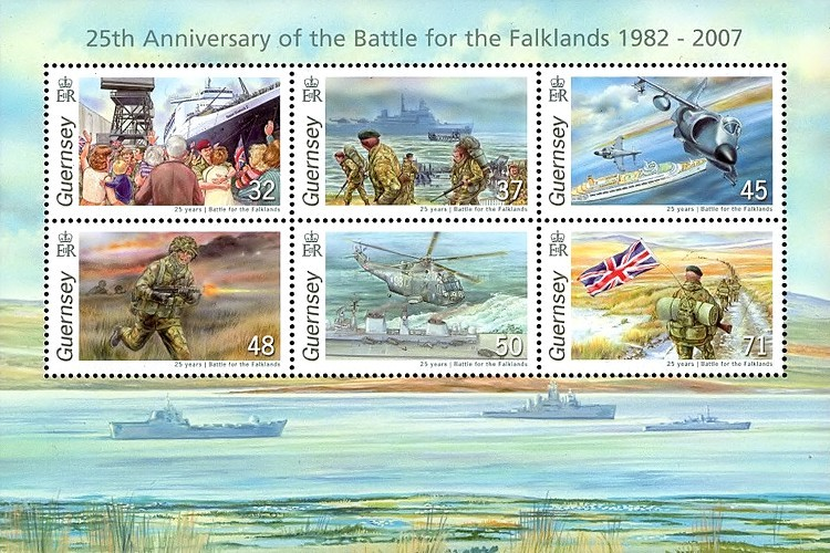 [The 25th Anniversary of the Battle for the Falklands, Typ ]