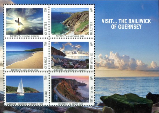 [EUROPA Stamps - Visit Guernsey, Typ ]