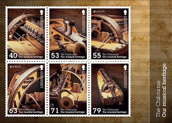 [EUROPA Stamps - Musical Instruments, Typ ]